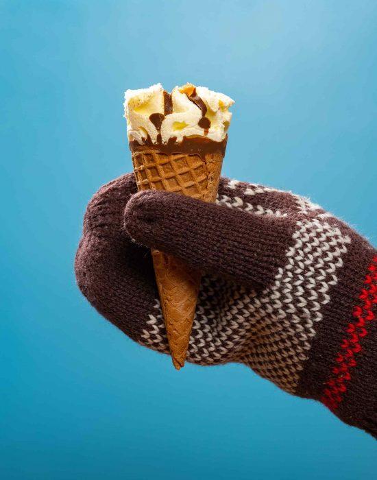 Sei un po' come il gelato d'inverno